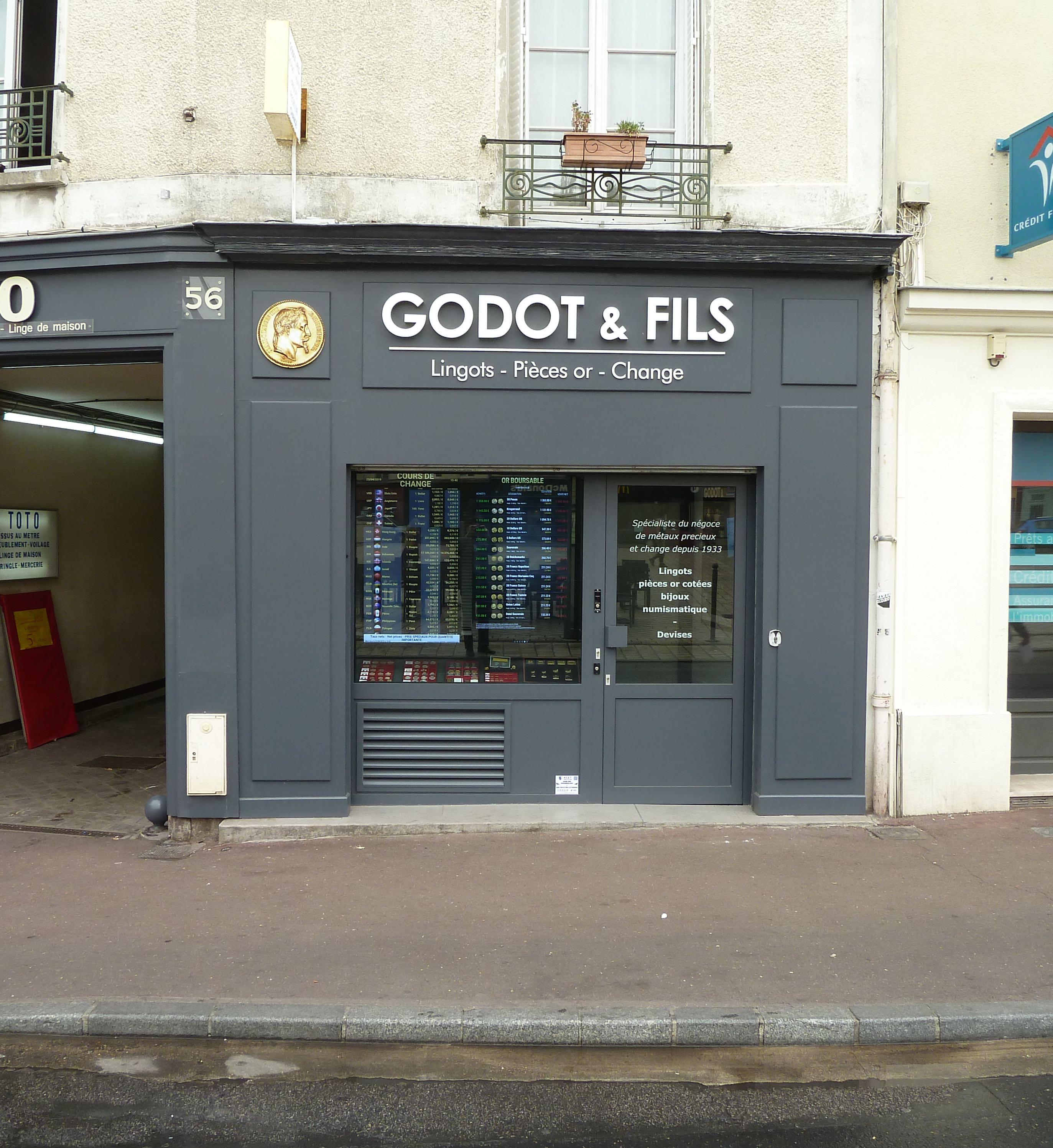 Godot et Fils Saint Germain en Laye